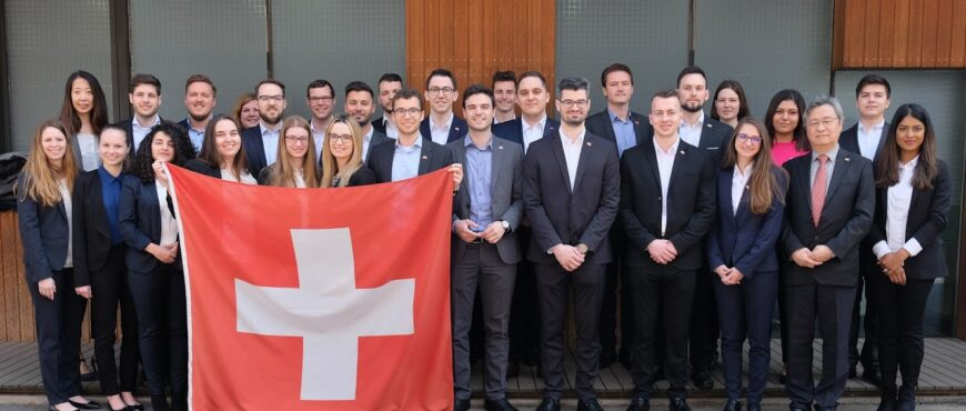 Insight China 2019 Group Photo at the Swiss Embassy
