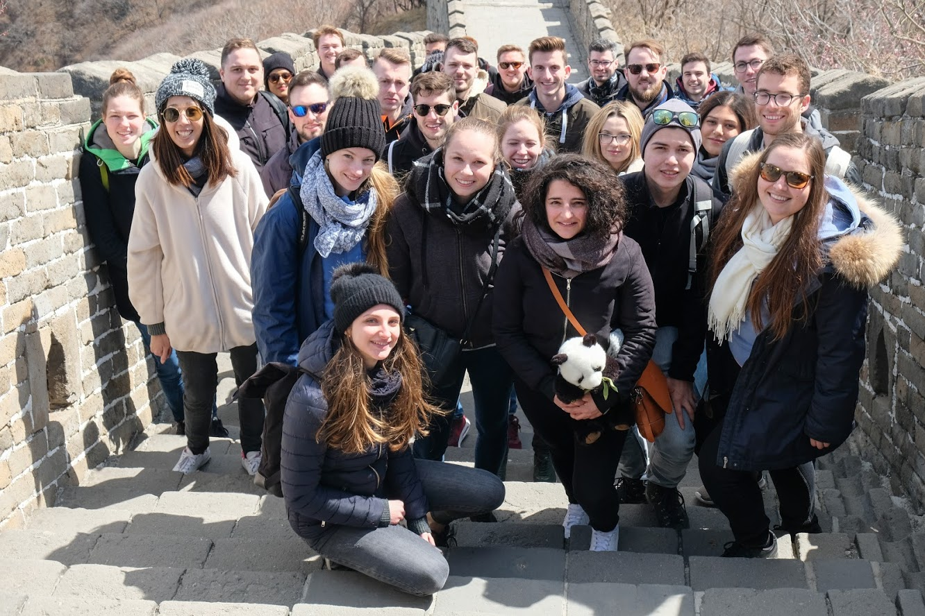 Insight China 2019 Group Photo at the Great Wall of China