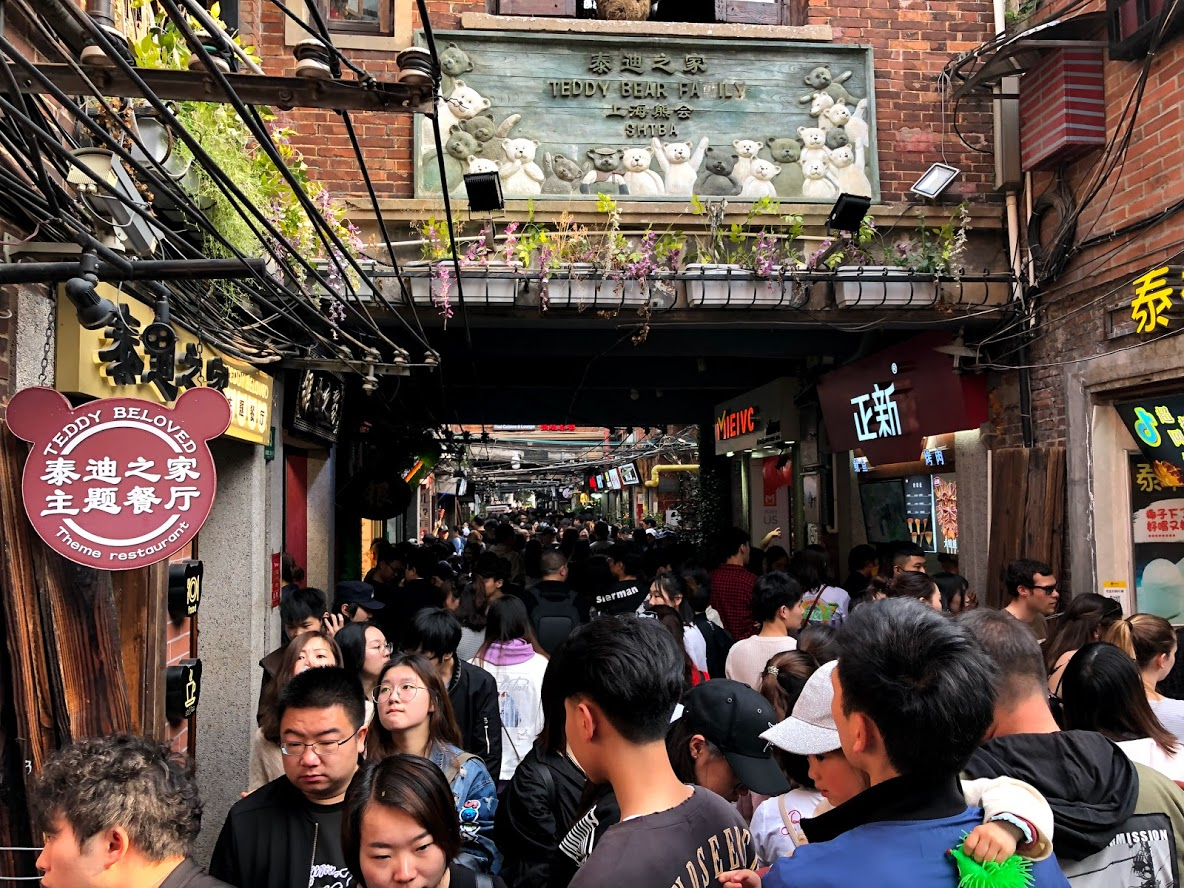 Tianzifang: An Example Of Chinese Lifestyle