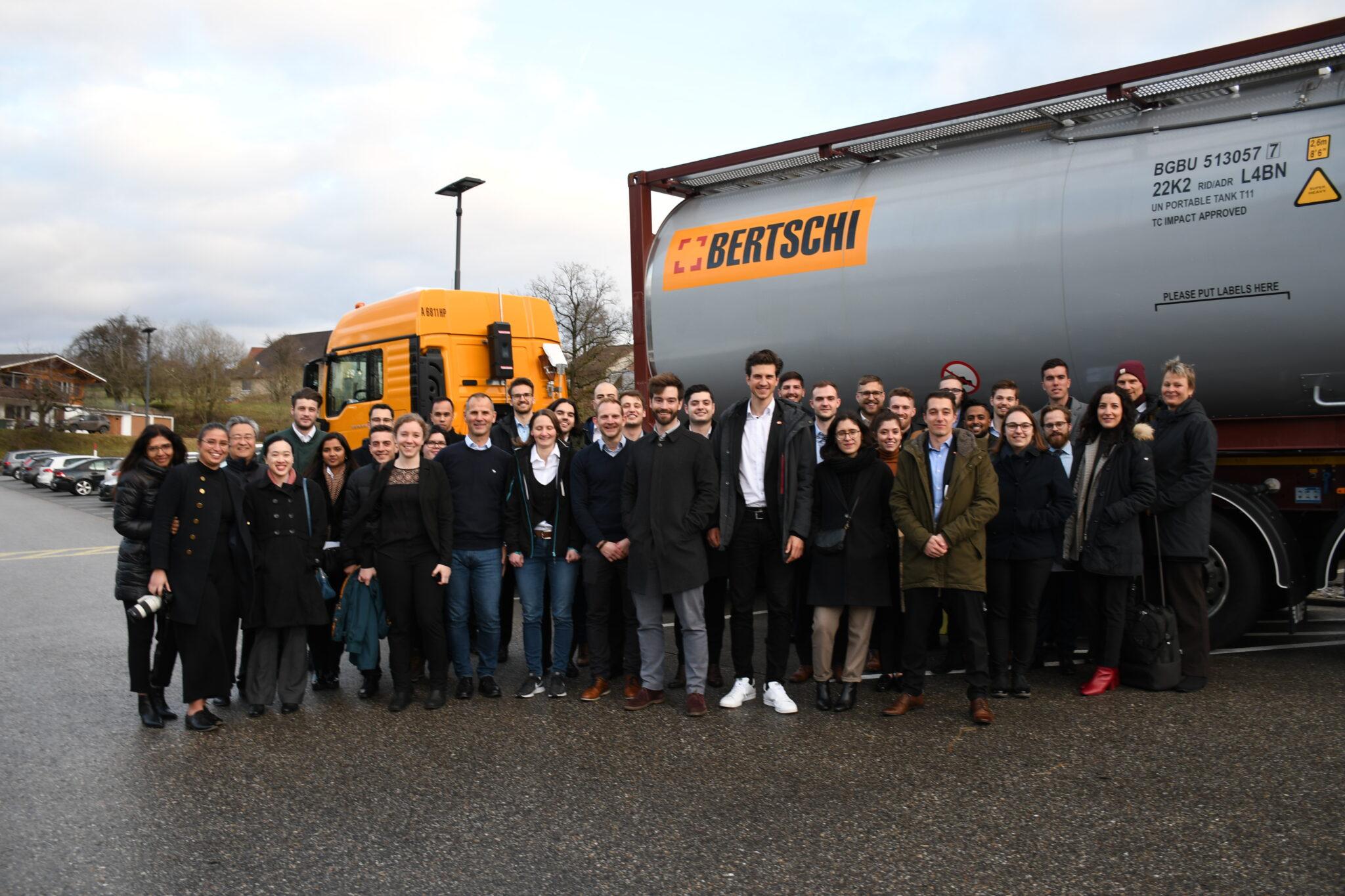 Preparatory Seminar 2020, Day 3 – Visiting Hoffmann-La Roche & Bertschi AG